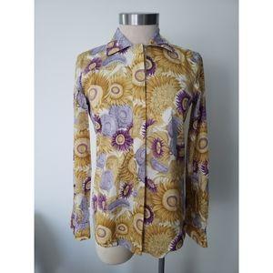 Salvatore Ferragamo Sunflower Shirt